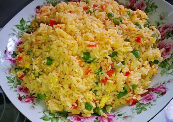 Fried Rice Ala Kampung #PinkBoxCereal