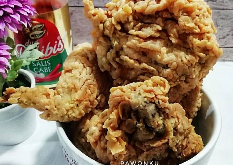 552.Ayam Goreng keriting (ala KFC)