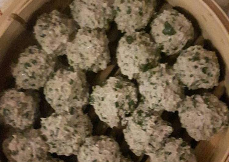 Asian flavored meatballs