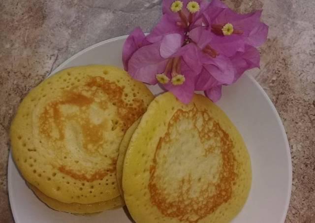 Pancake lembut dan simple (takaran sendok)