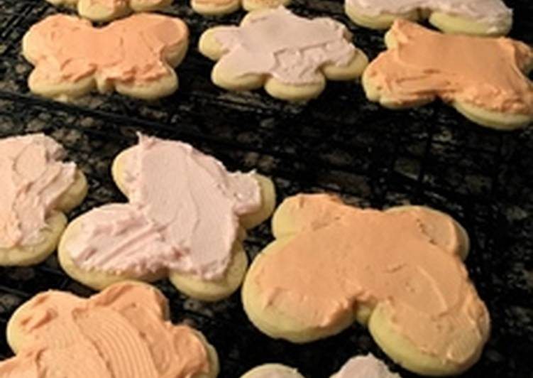 Grandma's Sugar Cookies and Frosting