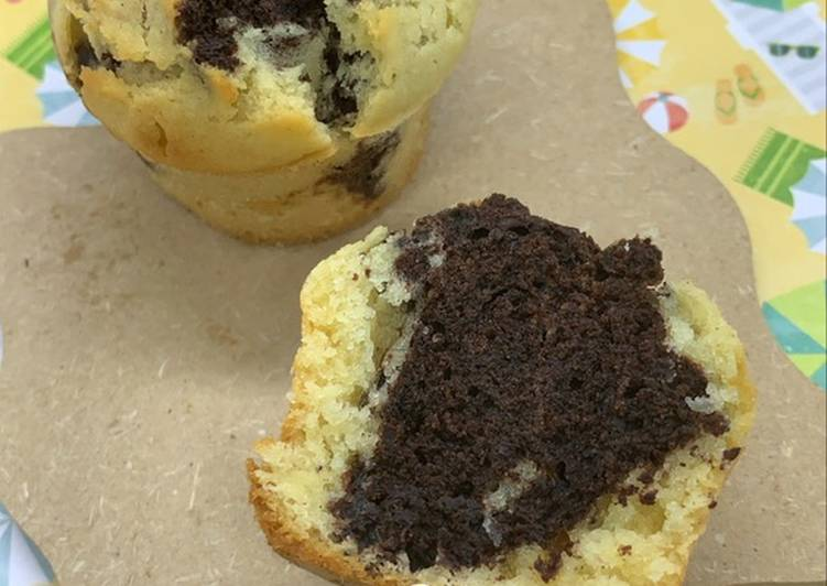 Muffin marbré au cake Factory ou pas