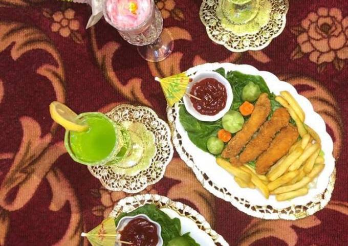 Hot Chicken Strips Platter