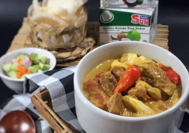 Tongseng Sapi santan Kara / olahan daging idul adha