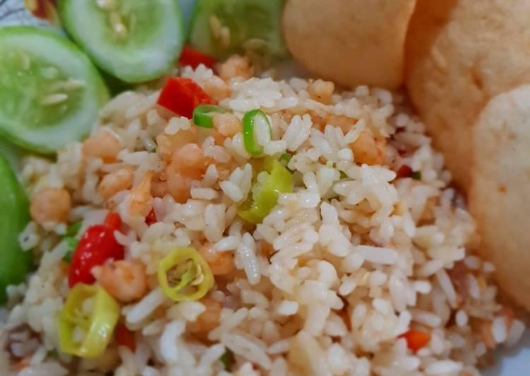 Nasi Goreng Udang Simple