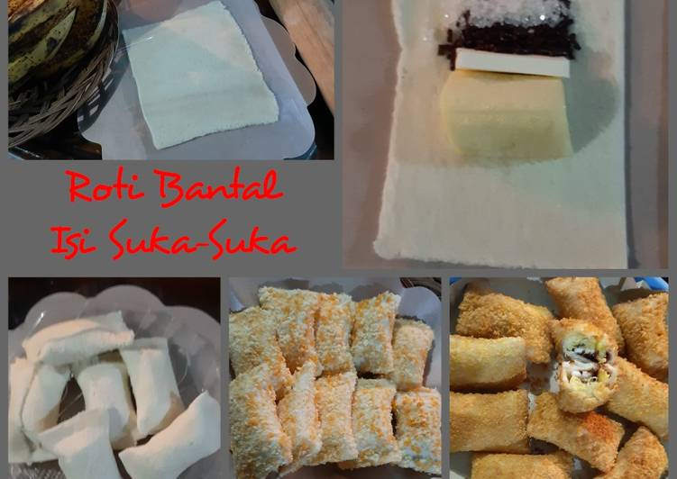 Roti Bantal Isi Suka-Suka (aku pake piscokju)