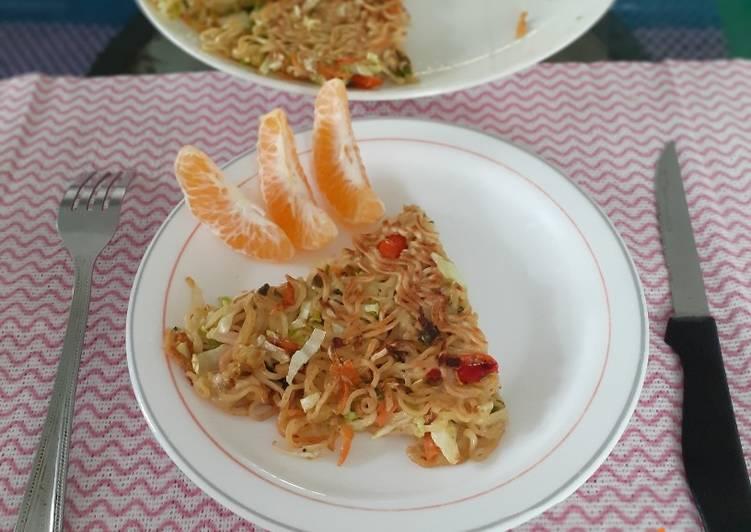 Omelete Mi Dan Sayur