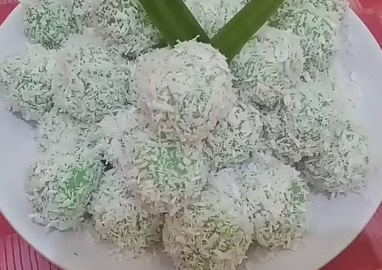 Kue Kelepon Ketan Gula Merah Viral
