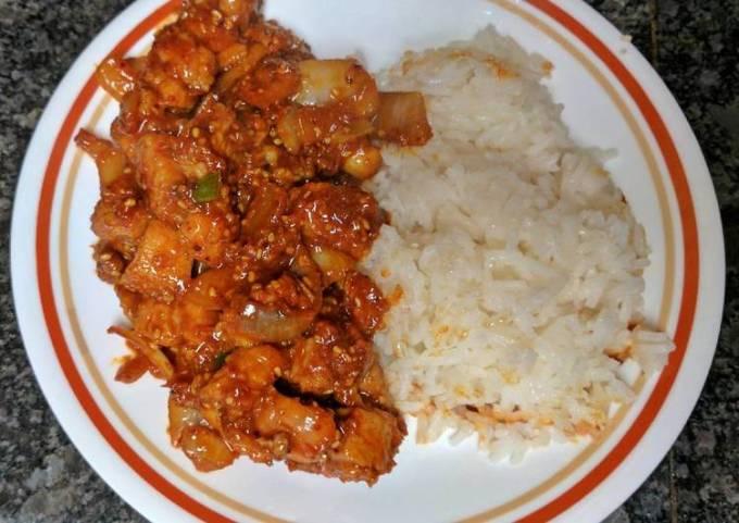 Spicy Korean BBQ Pork