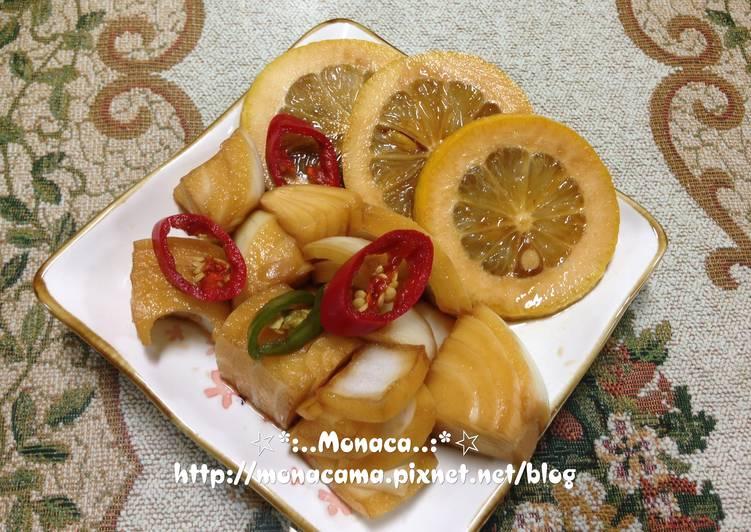韓式醬醃檸檬洋蔥레몬양파장아찌食譜 by monaca - Cookpad