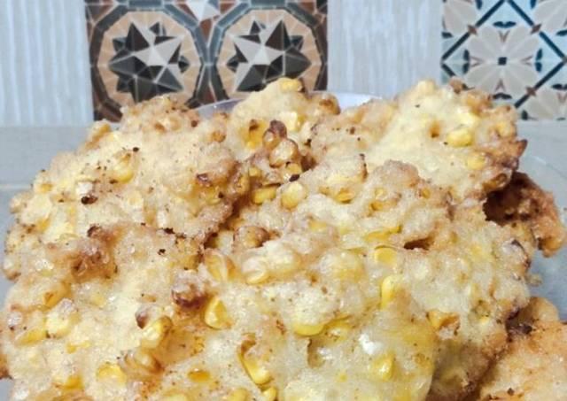 Bakwan jagung crispy tanpa telur