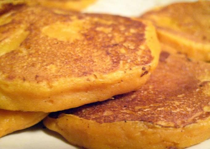 Gluten free/Vegan Sweet Potato Pancakes