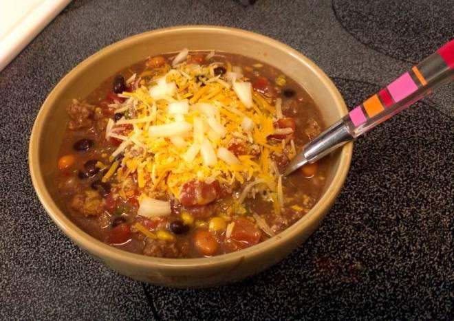 Taco Soup *PENNY SAVER AND DELISH!!*