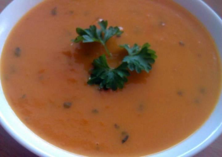 Vickys Carrot & Coriander / Orange Soup GF DF EF SF NF