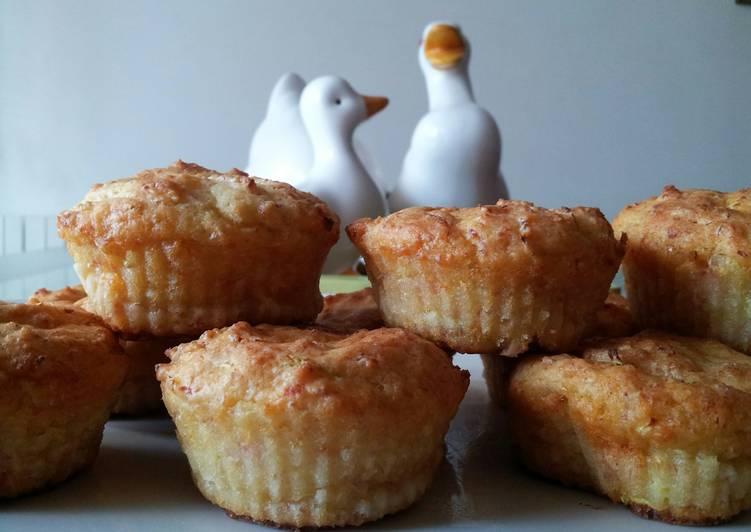 """AMIEs Muffin """"al Prosciutto e Parmigiano"""""""
