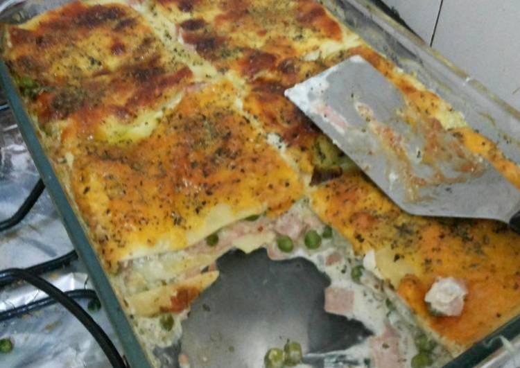 Lasagna parisiense