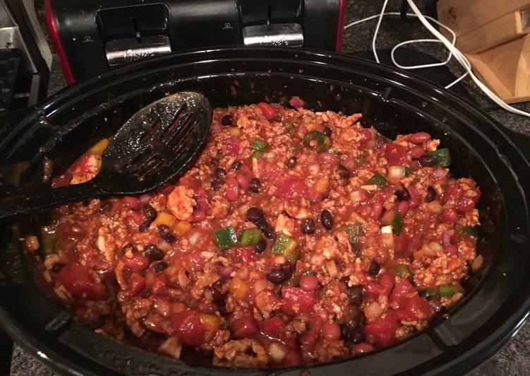 Spicy Jamaican Jerk Chili