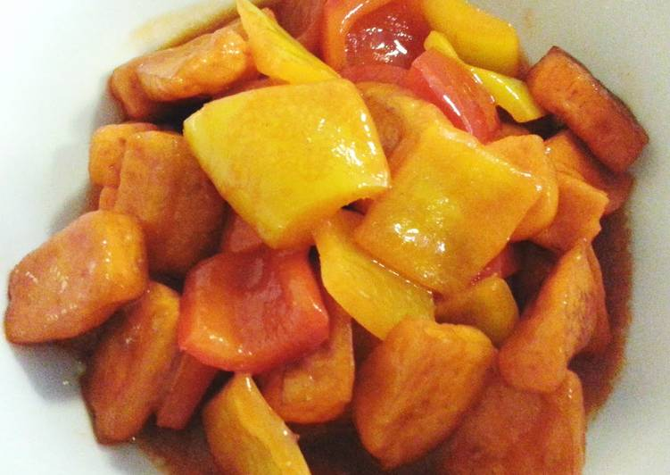 Sweet and sour bean curd