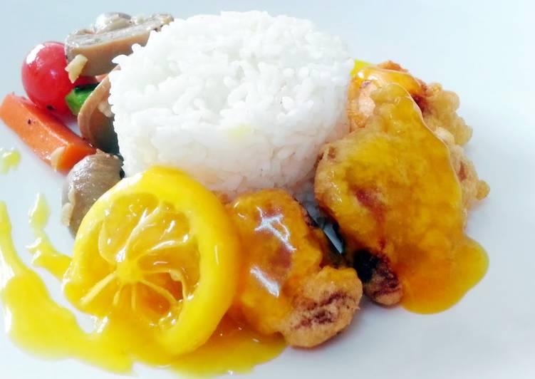 Lemon chicken (chinese style)