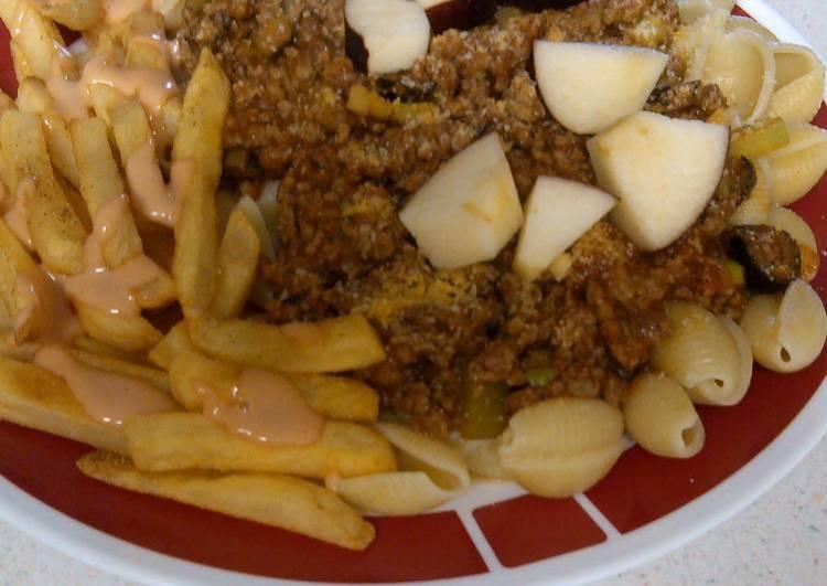 Stewz Meaty Apple Pasta #2