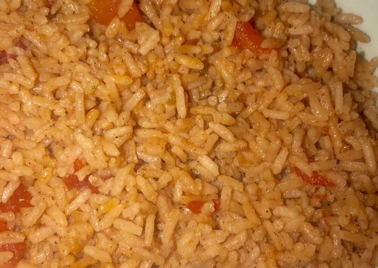 8 minute Spanish rice