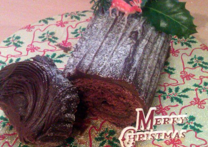 Vickys Christmas Yule Log, GF DF EF SF NF
