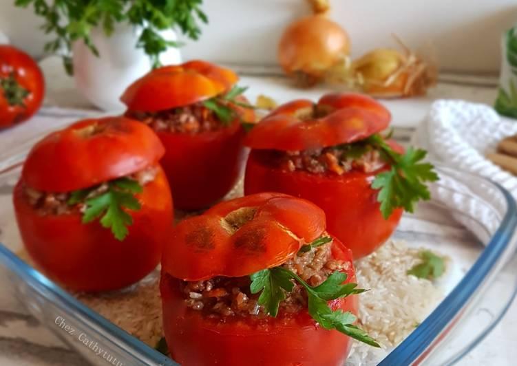 Tomates farcies à ma façon
