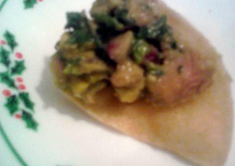 Trev's Tuna Ceviche