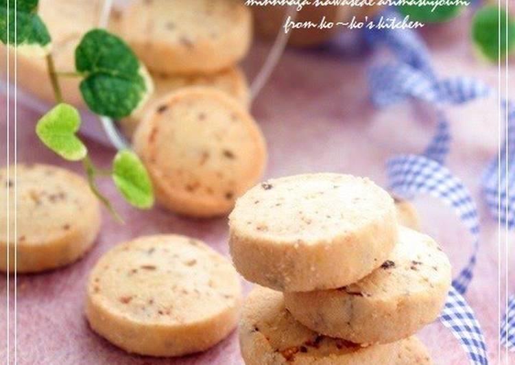 Vanilla and Walnut Cookies