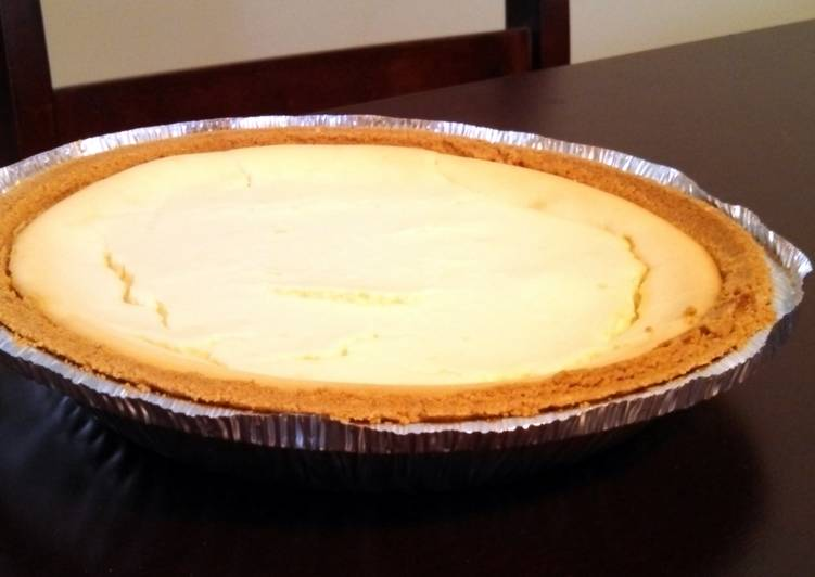"9"" Pie Crust New York Cheesecake"