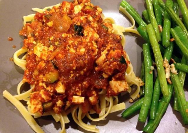 Parker's Vegetarian Spaghetti