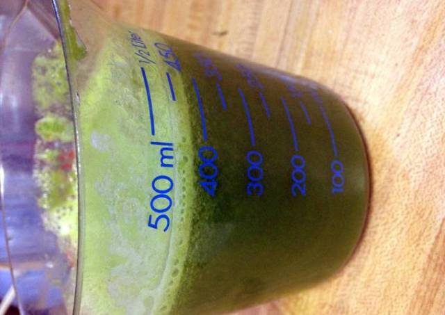 Kale Pineapple Mint Juice