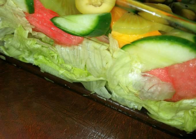 Fruit explosion salad