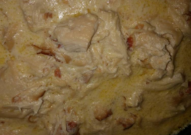 Low Carb Smothered Chicken