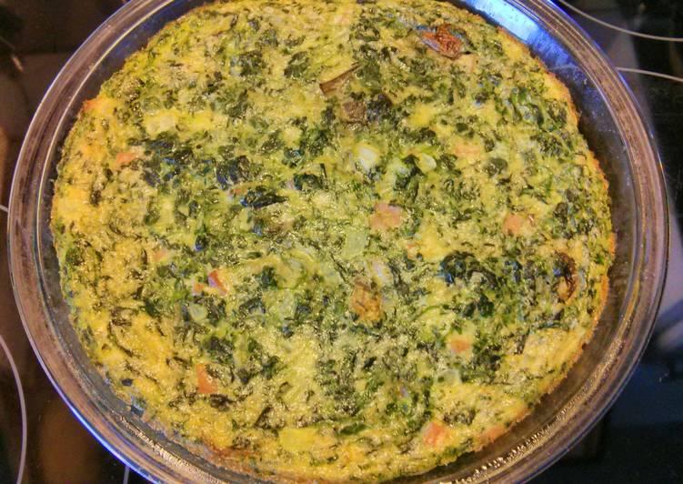 Quick Easy Spinach Quiche