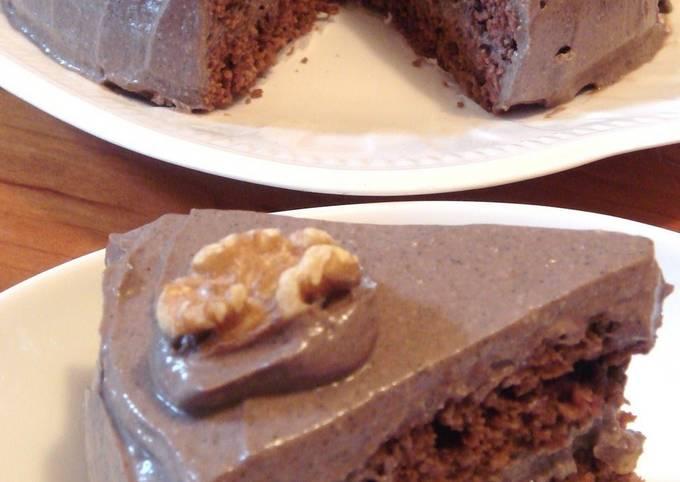 Non-Egg Dairy-Free Chocolate Cake