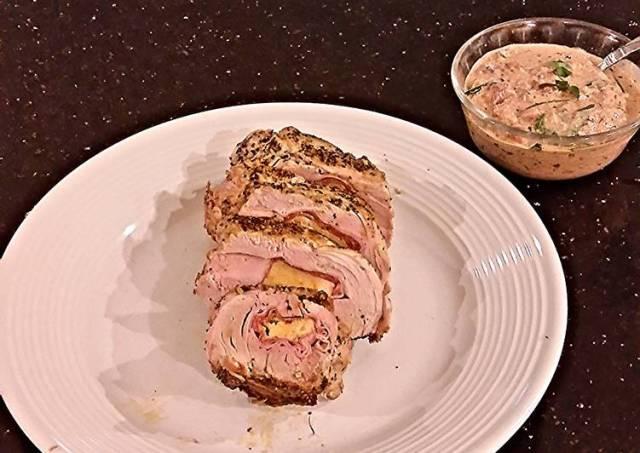 Pork Tenderloin Stuffed with Italian Meats