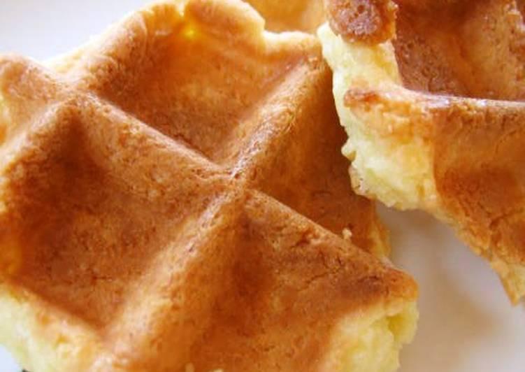 Looks Like Waffles, But It's Galette