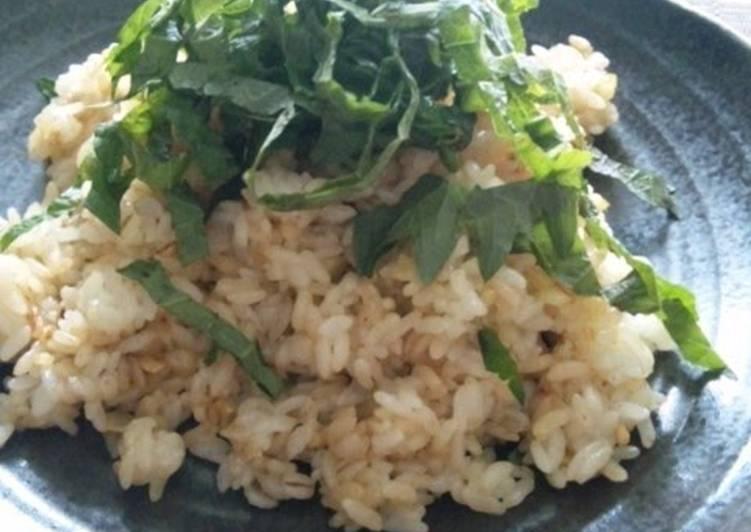 Easy & Simple Garlic Fried Rice
