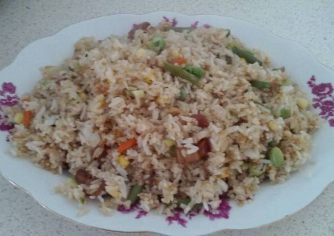 Custom made fried rice
