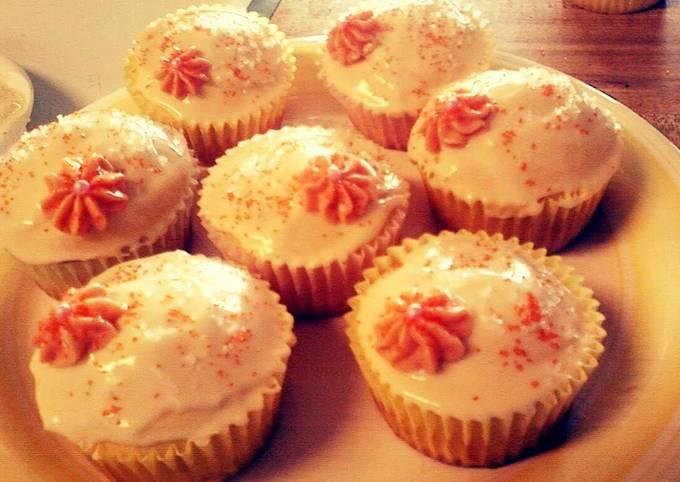 Orange Blossom Cupcake!