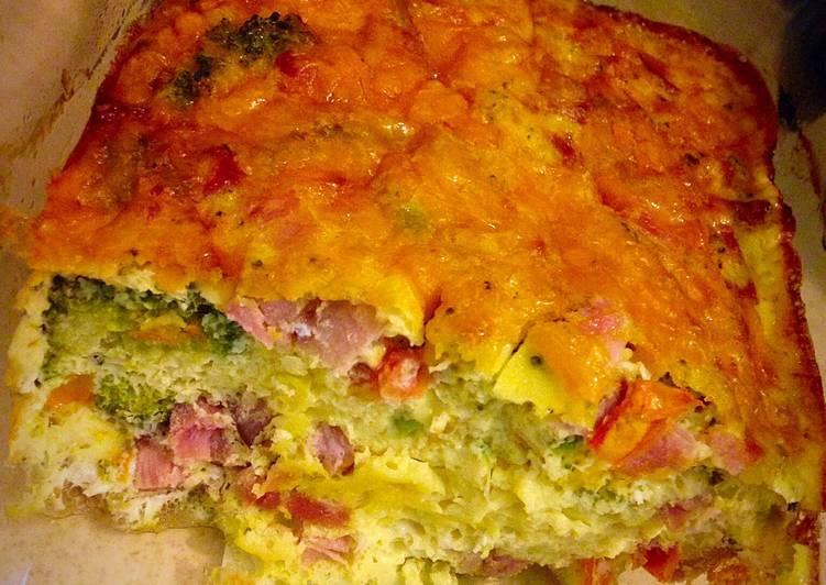 Yummy Breakfast Egg Bake