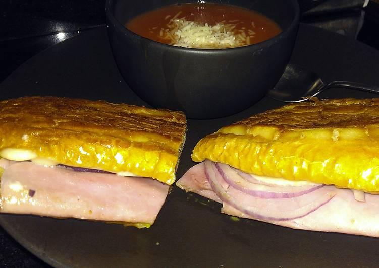 Yummy Grilled Ham n Cheese