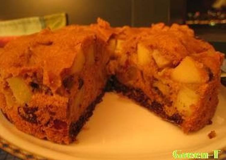 Macrobiotic Sweet Potato and Apple Cake