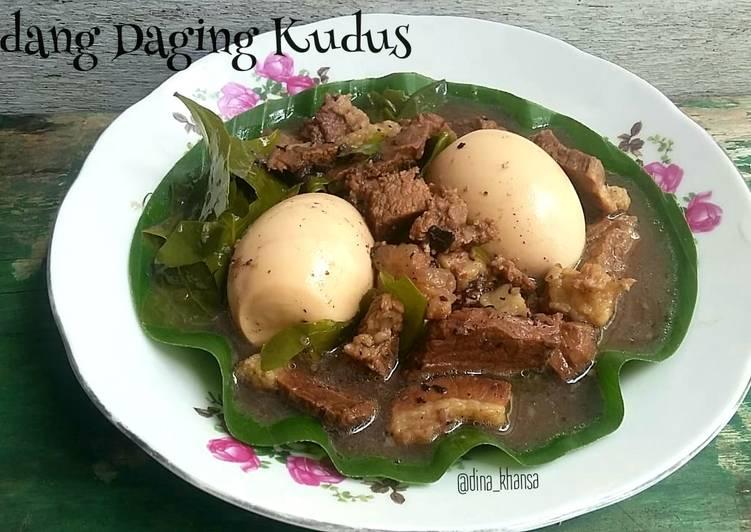 Pindang Daging Telur Kudus