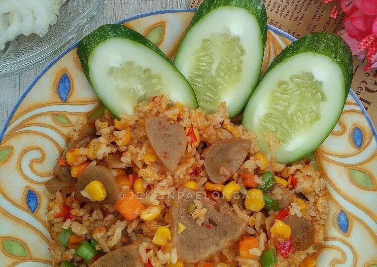 Nasi Goreng Mix Veggie