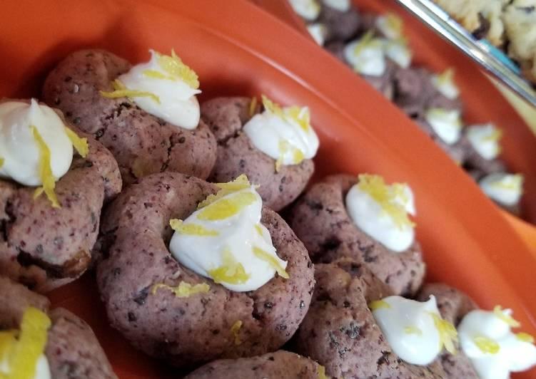 CRANBERRY dessert cookies Keto, Gluten Free, Sugar Free