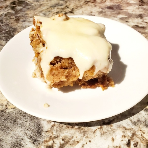 Old Fashioned German Apple Cake