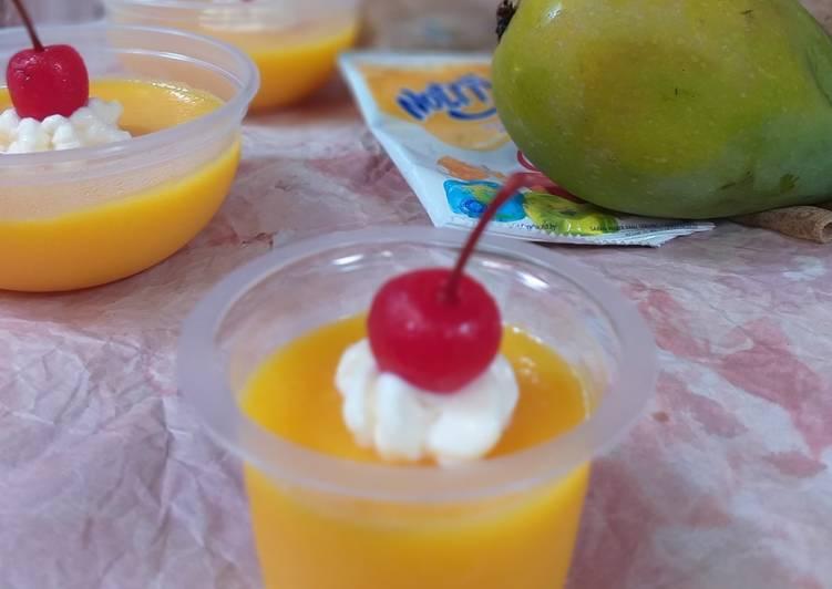 Puding Mangga Nutrijel
