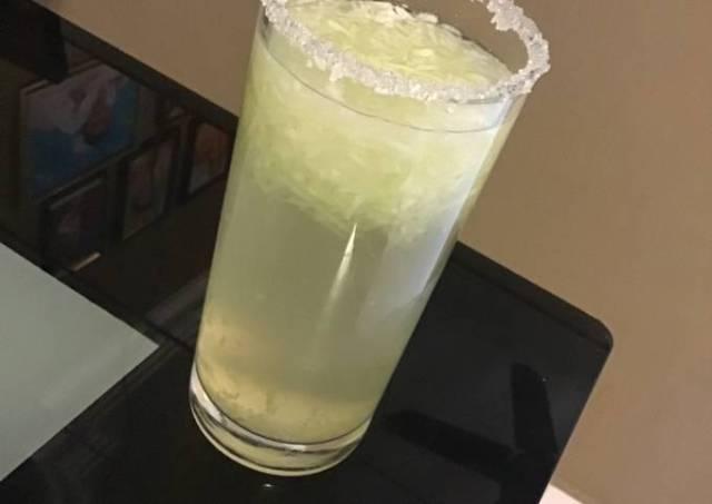 Lime Cucumber Juice